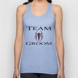 Team Groom Spider Man Unisex Tank Top