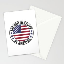 The United States of America - USA Stationery Cards