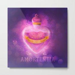 Love Potion Metal Print
