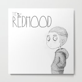 The Redhood Metal Print