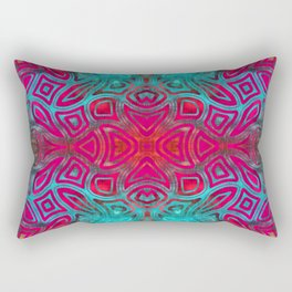 The Easter Bunny Visual Enigma I Rectangular Pillow