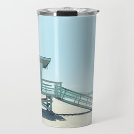 Hermosa Beach Lifeguard Tower 19 Travel Mug