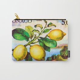 Branch of a lemon tree in autumn Carry-All Pouch