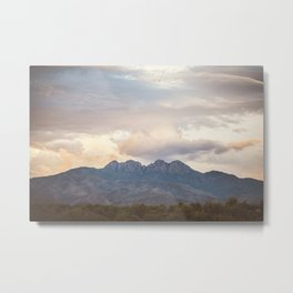 Four Peaks Sunset Metal Print