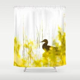 Bird by the lake #decor #society6 #buyart Shower Curtain