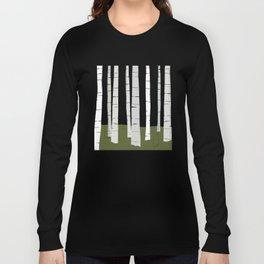 Quiet Birches Long Sleeve T-shirt