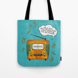 God Is The DJ Tote Bag