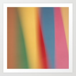 Colored blured background 22 Art Print