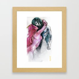 Bubbline - Capture Framed Art Print