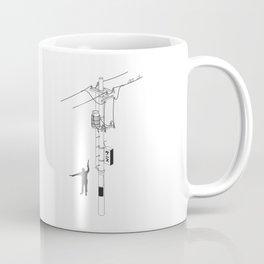 Tokyo Electric Pole Coffee Mug