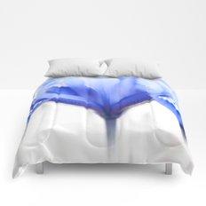 Blue Iris 1 Comforters