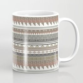 Tribal clay Coffee Mug