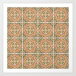 Seamless tile pattern Art Print