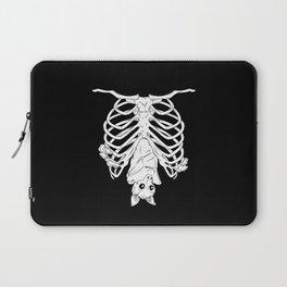 Cute Bat in Ribcage Laptop Sleeve