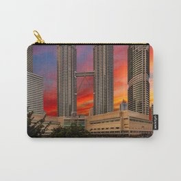 Petronas Towers Sunset Carry-All Pouch