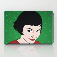 amelie iPad Cases featuring Amelie by Pendientera