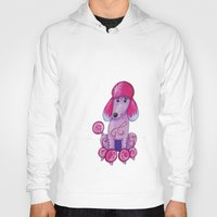 poodle Hoodies featuring poodle by K.ForstnerArt