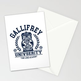 Gallifrey University Stationery Cards