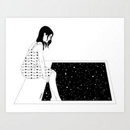 Frozen Moment Art Print