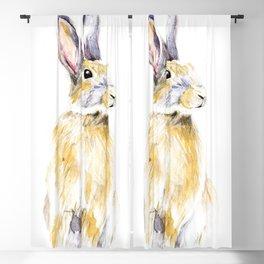 Hare Bunny Blackout Curtain