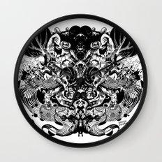 Scorn Pourer Wall Clock