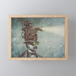 The Projectionist (colour option) Framed Mini Art Print