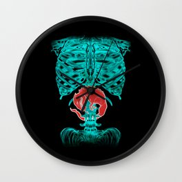 Alien Xray Wall Clock