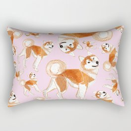 Akita Inu Rectangular Pillow