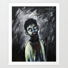The Godless (variant) Art Print