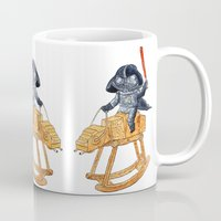 darth Mugs featuring Darth Vader by gunberk