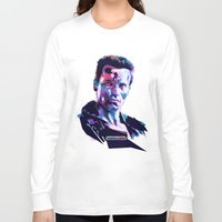 arnold Long Sleeve T-shirts featuring Arnold Schwarzenegger: BAD ACTORS by Largetosti