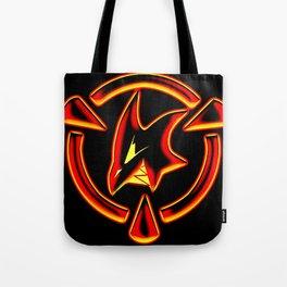 Red: Logo Tote Bag