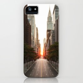 Manhattanhenge iPhone Case