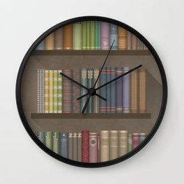 The books you borrowed – dark Wall Clock