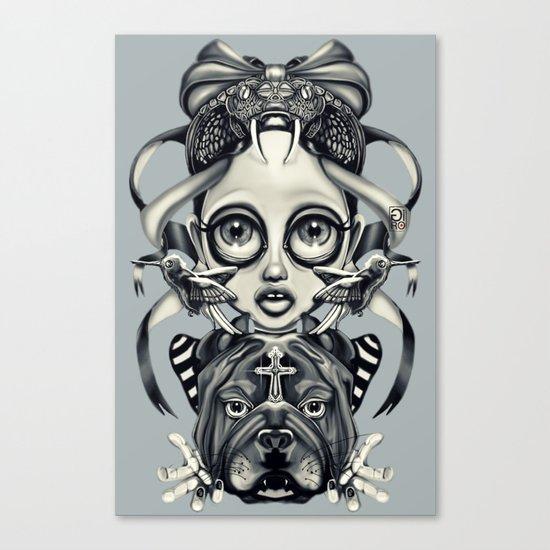 """Tattoeums III"" Canvas Print"