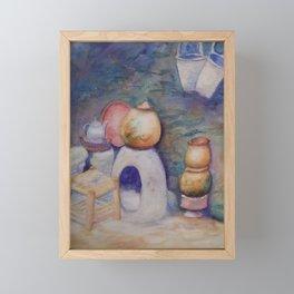 Berber Kitchen WC170413a-11 Framed Mini Art Print