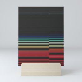 Let's Stripe Mini Art Print