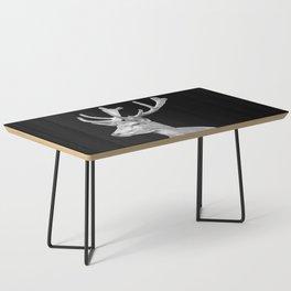 Deer Black Coffee Table