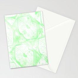 faded irish kisses Stationery Cards