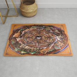 Progress Mandala Rug