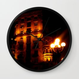 Night Crest 4 Wall Clock