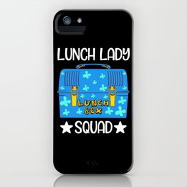 Lunch Lady Lunch Box Squad Bento Box iPhone Case