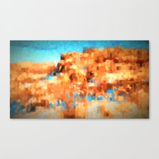 Hill and a Half Canvas Print