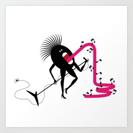 Soul Singer Art Print
