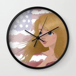 God Bless America 2 Wall Clock