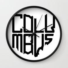Columbus (2) Wall Clock