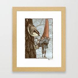 Gnome Tapper Framed Art Print