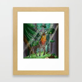 Lord of the Forest Framed Art Print