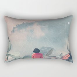 Lost in the 17th Dimension Rectangular Pillow