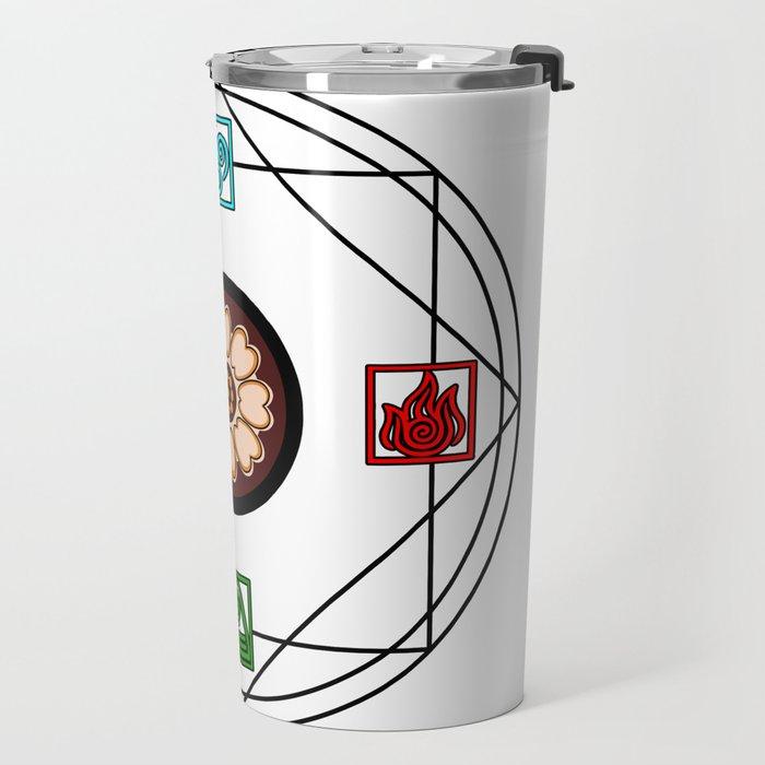 Elemental White Lotus - ATLAS Travel Mug